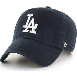 47brand - Czapka Los Angeles Dodgers. Czarne czapki i kapelusze męskie 47brand. Za 89.90 zł.