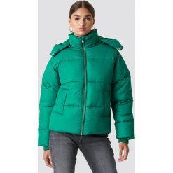 NA-KD Trend Kurtka watowana - Green. Zielone kurtki damskie NA-KD Trend, z materiału. Za 283.95 zł.
