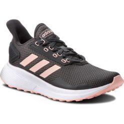 Buty adidas - Duramo 9 BB6930 Carbon/Cleora/Ftwwht. Szare obuwie sportowe damskie Adidas, z materiału. W wyprzedaży za 199.00 zł.