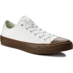 Trampki CONVERSE - Ctas II Ox 155502C  White/Gum. Białe trampki męskie Converse, z gumy. W wyprzedaży za 199.00 zł.