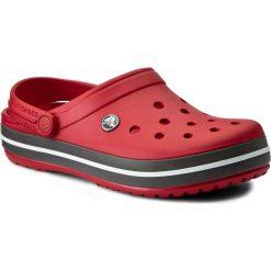 Klapki CROCS - Crocband 11016 Pepper. Czerwone klapki damskie Crocs, z tworzywa sztucznego. W wyprzedaży za 159.00 zł.