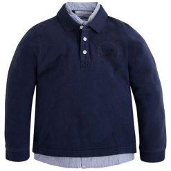 Koszulka polo w kolorze granatowym. T-shirty dla chłopców marki Reserved. W wyprzedaży za 119.95 zł.