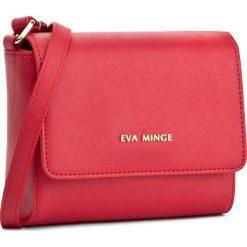 Torebka EVA MINGE - Odalis 2F 17NB1372170EF  408. Czerwone listonoszki damskie Eva Minge, ze skóry ekologicznej. W wyprzedaży za 199.00 zł.