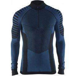 Craft Koszulka Męska Active Intensity Zip Czarna M. Czarne koszulki sportowe męskie Craft, z długim rękawem. W wyprzedaży za 139.00 zł.