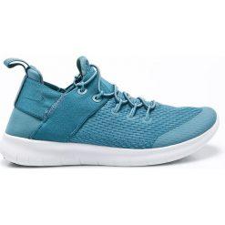 Nike - Buty Free Free RN 2017. Niebieskie obuwie sportowe damskie Nike, z materiału. W wyprzedaży za 239.90 zł.