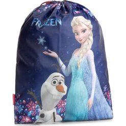 Torba FROZEN - WOKL22 Granatowy. Niebieskie torby sportowe męskie Frozen, z materiału. W wyprzedaży za 9.99 zł.