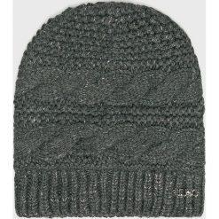 Liu Jo - Czapka. Szare czapki i kapelusze damskie Liu Jo, z dzianiny. Za 179.90 zł.