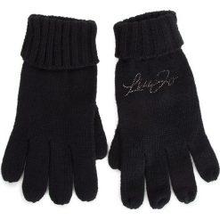 Rękawiczki Damskie LIU JO - Guanti Maglia A19289 M0300 Nero 22222. Czarne rękawiczki damskie Liu Jo, z materiału. Za 199.00 zł.