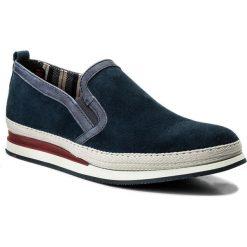 Półbuty LLOYD - Dallan 18-051-13 Jeans/Midnight. Niebieskie półbuty na co dzień męskie Lloyd, z jeansu. W wyprzedaży za 449.00 zł.