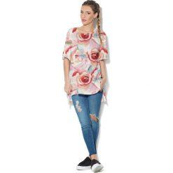 Colour Pleasure Koszulka CP-033  9 pudrowy róż r. uniwersalny. T-shirty damskie Colour Pleasure. Za 76.57 zł.
