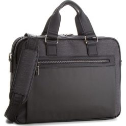 Torba na laptopa LANETTI - RM0776 Black. Szare torby na laptopa damskie Lanetti, z materiału. Za 139.99 zł.