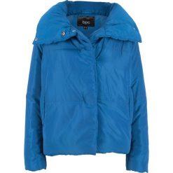 Kurtka ciepło watowana bonprix lazurowy niebieski. Niebieskie kurtki damskie bonprix. Za 124.99 zł.
