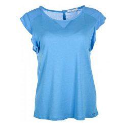 Pepe Jeans T-Shirt Damski Clementine S Niebieski. Niebieskie t-shirty damskie Pepe Jeans, z jeansu. W wyprzedaży za 169.00 zł.