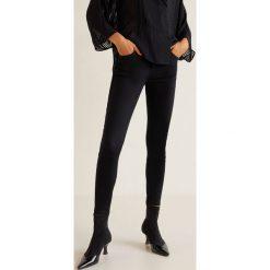 Mango - Jeansy Skinny. Czarne jeansy damskie Mango. Za 119.90 zł.