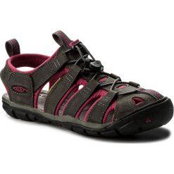 Sandały KEEN - Clearwater Cnx Leather 1014370 Magnet/Sangria. Sandały damskie marki bonprix. W wyprzedaży za 299.00 zł.