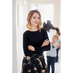 Bluzka Eunika czarna długi rękaw XXS czarny. Bluzki z długim rękawem męskie marki Marie Zélie. Za 87.00 zł.