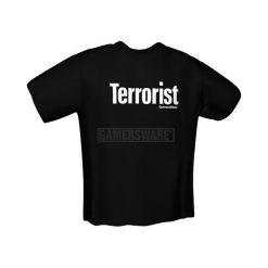 GamersWear TERRORIST T-Shirt czarna (XL) ( 5058-XL ). Czarne t-shirty i topy dla dziewczynek GamersWear. Za 92.45 zł.