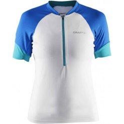 Craft Koszulka Rowerowa Classic W White S. Białe koszulki sportowe damskie Craft, z klasycznym kołnierzykiem, z krótkim rękawem. W wyprzedaży za 179.00 zł.