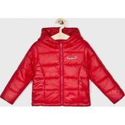 Pepe Jeans - Kurtka dziecięca Candita 122-180 cm. Czerwone kurtki i płaszcze dla dziewczynek Pepe Jeans, z jeansu. Za 319.90 zł.
