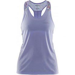 Craft Koszulka Pulse Sv. Purple L. T-shirty i topy dla dziewczynek Craft, na ramiączkach. W wyprzedaży za 135.00 zł.