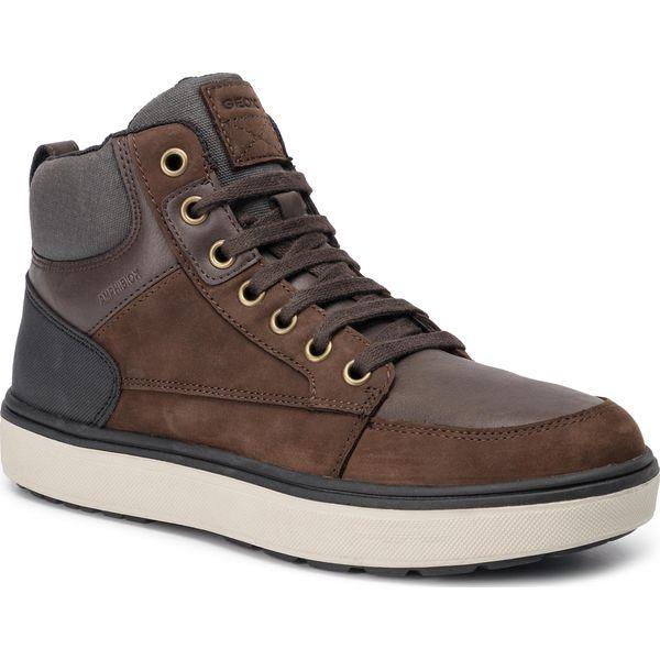 Sneakersy GEOX J Mattias B Abx A J940DA 032PG C0196 D CoffeeBlack