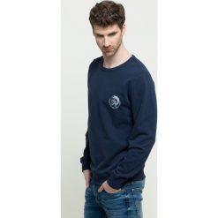 Diesel - Bluza. Czarne bluzy męskie Diesel, z bawełny. Za 339.90 zł.