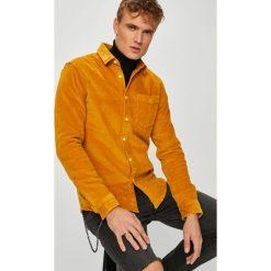 Review - Koszula. Brązowe koszule męskie Review, z bawełny, z klasycznym kołnierzykiem, z długim rękawem. Za 149.90 zł.