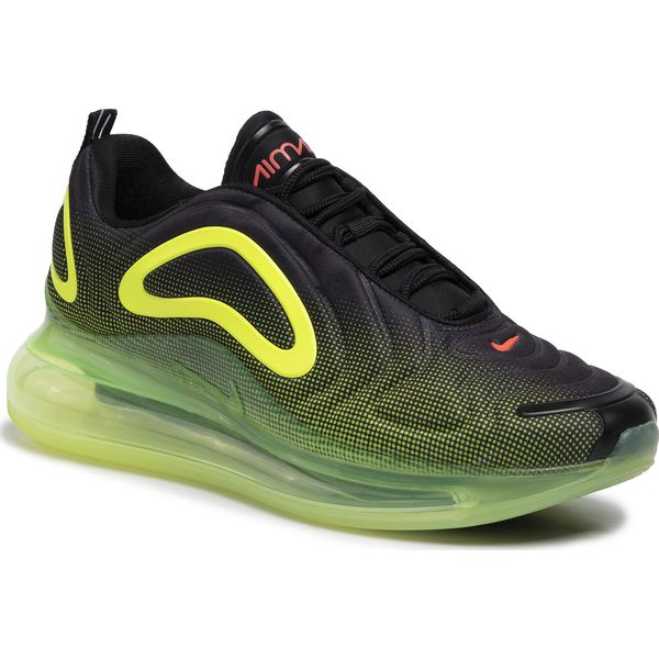 Buty NIKE Air Max 720 AO2924 008 BlackBright CrimsonVolt