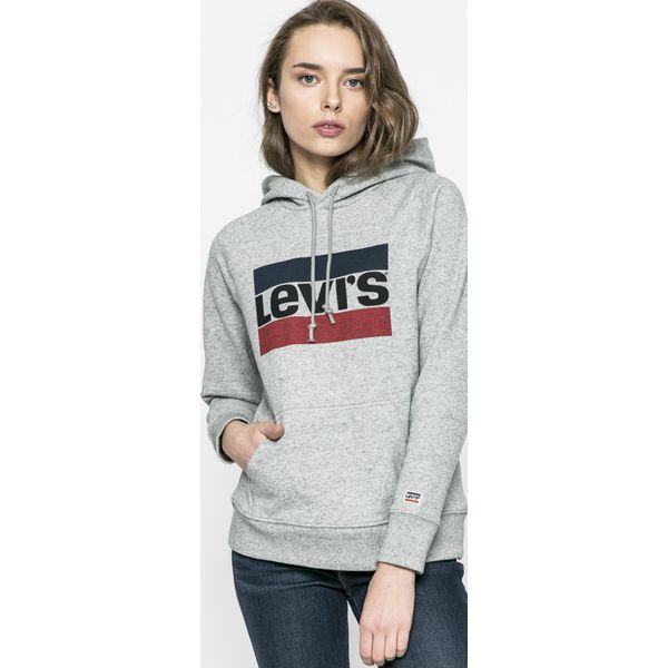 69c00fb06d Levi s - Bluza - Brązowe bluzy damskie marki Levi s