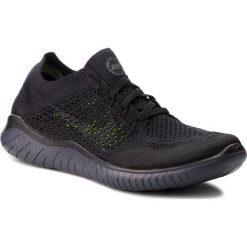 Buty NIKE - Free Rn Flyknit 2018 942838 002 Black/Anthracite. Czarne buty sportowe męskie Nike, z materiału. W wyprzedaży za 409.00 zł.