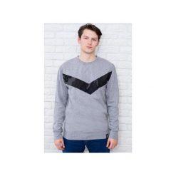 Bluza V'antastic! - szara. Szare bluzy męskie Desert snow, z aplikacjami, z bawełny. Za 144.00 zł.