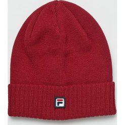 Fila - Czapka. Czerwone czapki i kapelusze męskie Fila. W wyprzedaży za 99.90 zł.