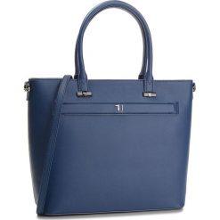 Torebka TRUSSARDI JEANS - Paprica 75B00558 U290. Niebieskie torebki do ręki damskie TRUSSARDI JEANS, z jeansu. Za 599.00 zł.