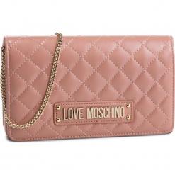 Torebka LOVE MOSCHINO - JC4118PP17LA0600 Rosa. Czerwone torebki do ręki damskie Love Moschino, ze skóry ekologicznej. Za 479.00 zł.