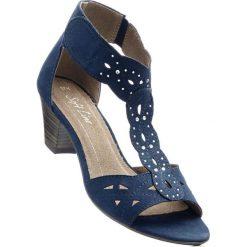 Wygodne sandały bonprix ciemnoniebieski. Sandały damskie marki bonprix. Za 149.99 zł.