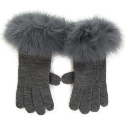 Rękawiczki Damskie MARELLA - Interno 65660185 004. Szare rękawiczki damskie Marella, z materiału. Za 389.00 zł.
