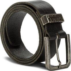 Pasek Męski TOMMY JEANS - Tjm Loop Belt 4.0 AM0AM03364 002. Czarne paski damskie Tommy Jeans, w paski, z jeansu. W wyprzedaży za 139.00 zł.