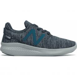 New Balance KACSTDPY. Szare buty sportowe chłopięce New Balance, z materiału. W wyprzedaży za 139.99 zł.