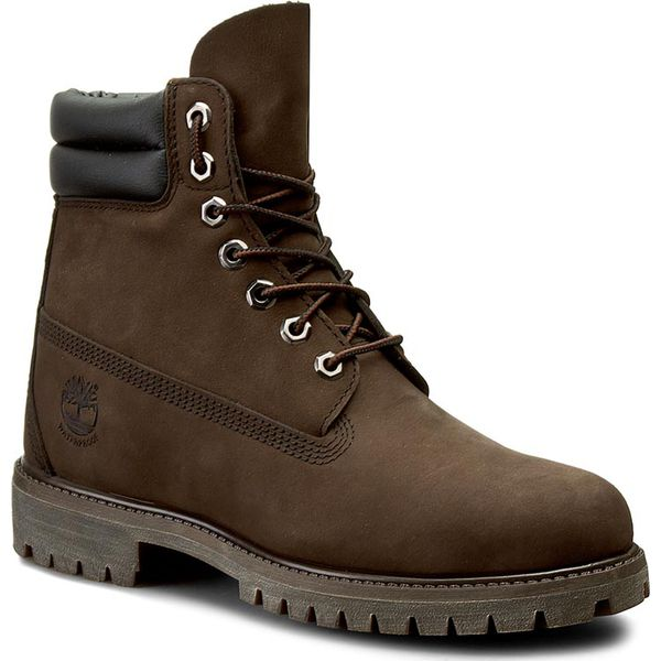 Trapery TIMBERLAND 6 In Boot 73543 Dk Brown N Brow