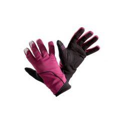 Rękawiczki Na Rower 500 Zimowe. Fioletowe rękawiczki damskie B'TWIN, na zimę, z materiału. Za 59.99 zł.