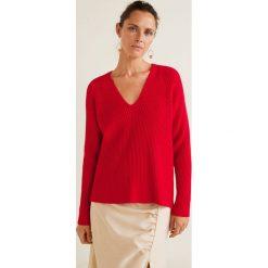 Mango - Sweter Orion. Czerwone swetry damskie Mango, z dzianiny. Za 139.90 zł.