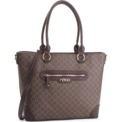 Torebka NOBO - NBAG-F2310-C017 Brązowy. Brązowe torebki do ręki damskie Nobo, ze skóry ekologicznej. W wyprzedaży za 169.00 zł.