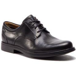 Półbuty CLARKS - UnAldricTieGtx GORE-TEX 26136782 Black Leather. Czarne eleganckie półbuty Clarks, z gore-texu. W wyprzedaży za 439.00 zł.
