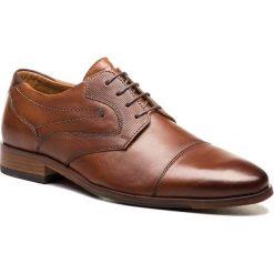 Półbuty SALAMANDER - Steen 31-57413-01 Cognac. Brązowe eleganckie półbut
