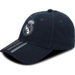 Czapka z daszkiem adidas - Real 3S Cap CY5601 Teconi/Boonix/White. Niebieskie czapki i kapelusze męskie Adidas. Za 79.95 zł.