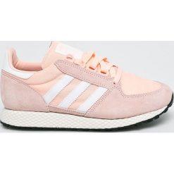 Adidas Originals - Buty Forest Grove. Szare obuwie sportowe damskie adidas Originals, z gumy. W wyprzedaży za 279.90 zł.