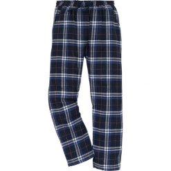 Spodnie piżamowe z flaneli bonprix w kratę. Szare piżamy męskie bonprix, w paski. Za 44.99 zł.