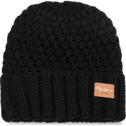 Czapka PEPE JEANS - Elma Hat PL040269 Black 999. Czarne czapki i kapelusze damskie Pepe Jeans, z jeansu. W wyprzedaży za 109.00 zł.