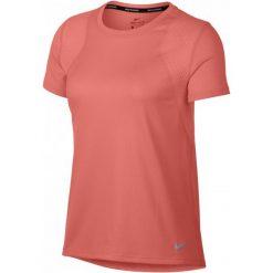 Nike Koszulka Biegowa Damska W Nk Run Top Ss, Crimson Pulse S. Czerwone koszulki sportowe damskie Nike. Za 89.00 zł.