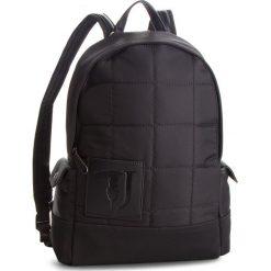 Plecak TRUSSARDI JEANS - 71B0989 K299. Czarne plecaki damskie TRUSSARDI JEANS, z jeansu, sportowe. Za 619.00 zł.